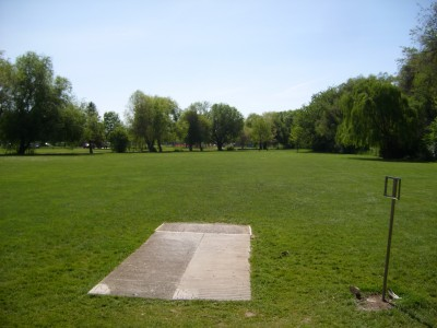 Ann Morrison Park, Southeast, Hole 15 Tee pad