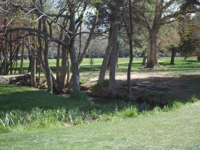 Ann Morrison Park, Southeast, Hole 17 Tee pad