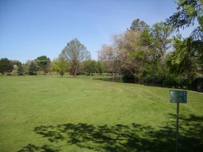 Ann Morrison Park, Southeast, Hole 13 Tee pad