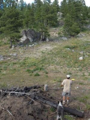 Bogus Basin, Pioneer Lodge, Hole 16 Tee pad