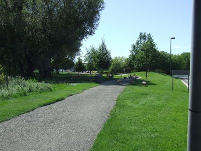 HP East Park, Main course, Hole 4 Tee pad