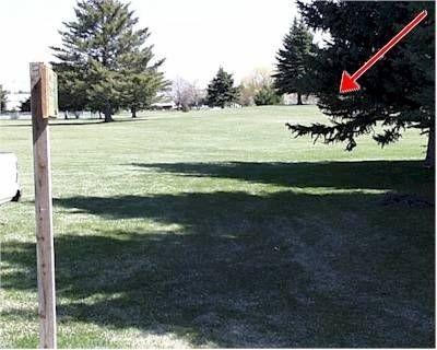 Freeman Park, Main course, Hole 3 Tee pad