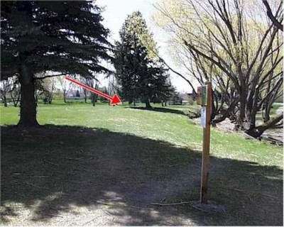 Freeman Park, Main course, Hole 5 Tee pad