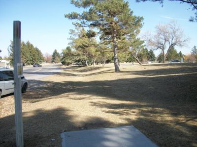 Freeman Park, Main course, Hole 16 Tee pad