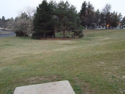 University of Idaho, Main course, Hole 9 Tee pad