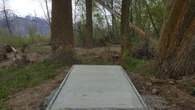 Miles Goodyear Park, Main course, Hole 4 Tee pad