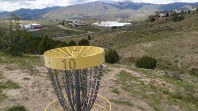 Idaho State University, Main course, Hole 10 Reverse (back up the fairway)