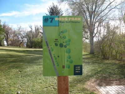 Upper Ross Park, Main course, Hole 7