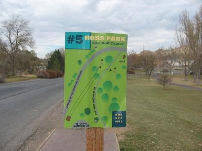 Upper Ross Park, Main course, Hole 5