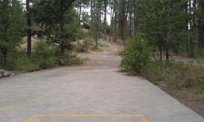 Corbin Park, Main course, Hole 6 Tee pad