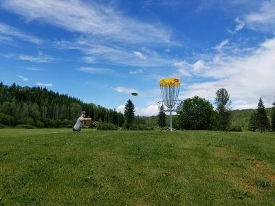 Wells Gray Golf & RV Resort, Main course, Hole 3 Putt