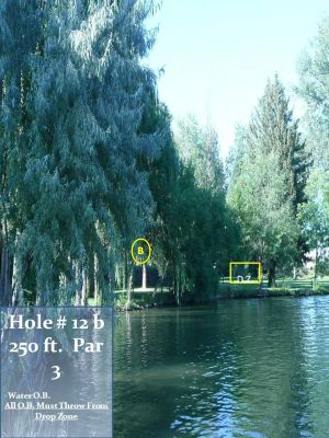 Lake Walcott State Park, Main course, Hole 12