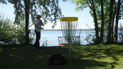 Lake Walcott State Park, Main course, Hole 12 Putt