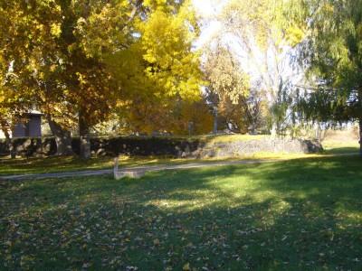 Lake Walcott State Park, Main course, Hole 12 Tee pad