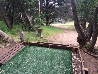 Gleneagles Golf Course at McLaren Park, Main course, Hole 5 Tee pad