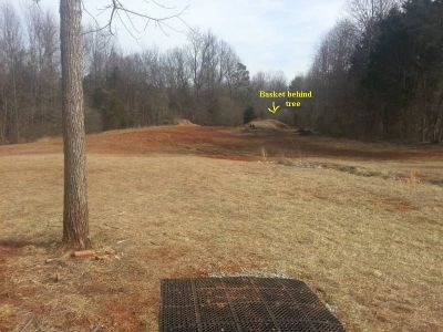 Guilford Meadows, Main course, Hole 16 Tee pad