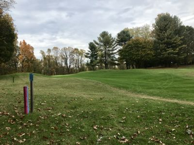 Hunt Valley Country Club, The Ridge, Hole 8 Tee pad