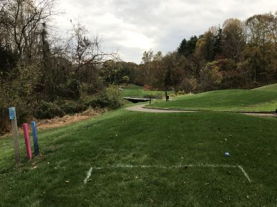 Hunt Valley Country Club, The Ridge, Hole 13 Tee pad