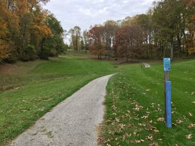 Hunt Valley Country Club, The Ridge, Hole 4 Long tee pad