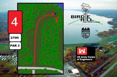 Birdie Hill, Main course, Hole 4 Hole sign