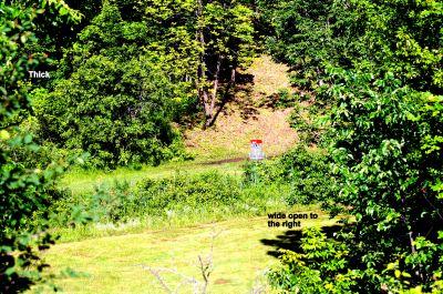 Highland Nordic, Main course, Hole 3 Short tee pad