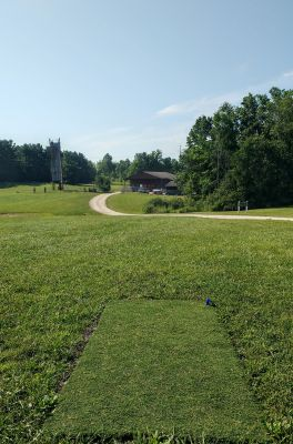 Camp Carl DGC, Main course, Hole 3 Tee pad