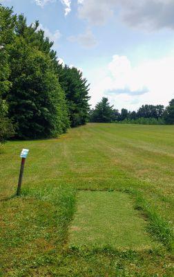 Camp Carl DGC, Main course, Hole 5 Long tee pad