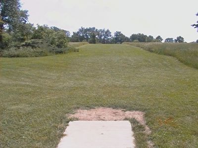 Earl W. Brewer Park, Championship course, Hole 14 Tee pad