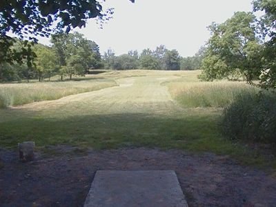 Earl W. Brewer Park, Championship course, Hole 9 Tee pad