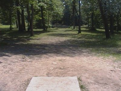 Earl W. Brewer Park, Championship course, Hole 7 Long tee pad