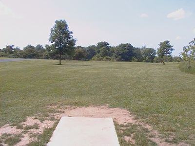 Earl W. Brewer Park, Championship course, Hole 18 Long tee pad