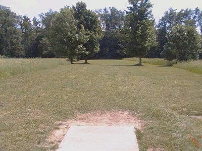 Earl W. Brewer Park, Championship course, Hole 15 Tee pad