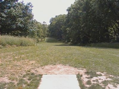 Earl W. Brewer Park, Championship course, Hole 8 Long tee pad