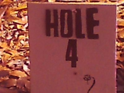 IG Levy, Main course, Hole 4 Hole sign