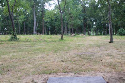 Ella Sharp Park, Main course, Hole 16 Tee pad