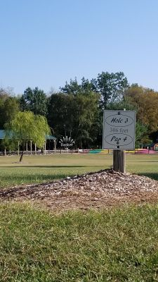 Camper's Haven Family Campground, Air Rider, Hole 3 Tee pad