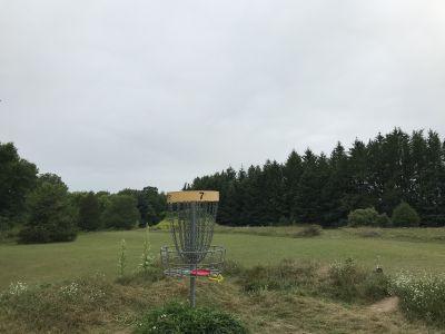 Sandy Knoll County Park, Main course, Hole 7 Reverse (back up the fairway)