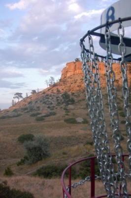 Diamond X, Main course, Hole 18 Reverse (back up the fairway)
