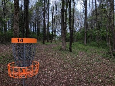 Boundary Waters Park, BW II, Hole 15 Reverse (back up the fairway)
