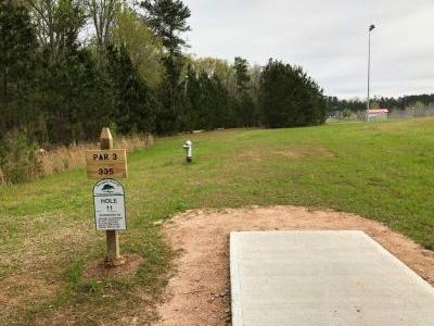 Boundary Waters Park, BW II, Hole 11 Tee pad