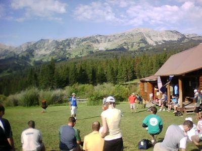 Bohart Ranch X-C Ski Center, Main course, Hole 18 Reverse (back up the fairway)