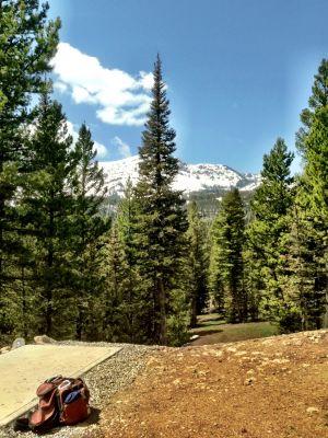 Bohart Ranch X-C Ski Center, Main course, Hole 5 Tee pad