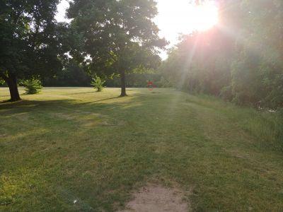 Highland Park, Main course, Hole 3 Tee pad