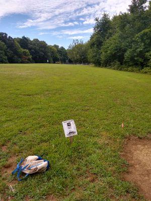 Cane Ridge Park, Short course, Hole 14 Tee pad