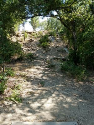Saddle Hills, New course, Hole 4 Tee pad