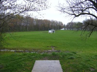 Emerson Park, Main course, Hole 17 Tee pad