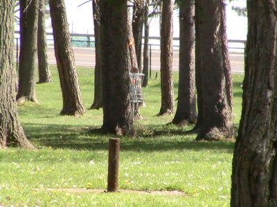 Emerson Park, Main course, Hole 2 Long tee pad