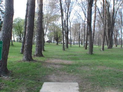 Emerson Park, Main course, Hole 6 Long tee pad