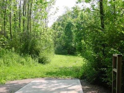 Oxbow Falls Park, Main course, Hole 12 Tee pad
