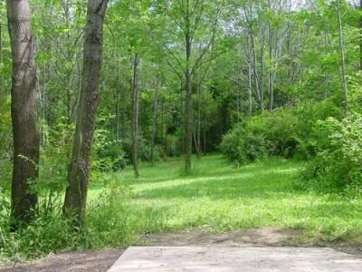 Oxbow Falls Park, Main course, Hole 4 Tee pad